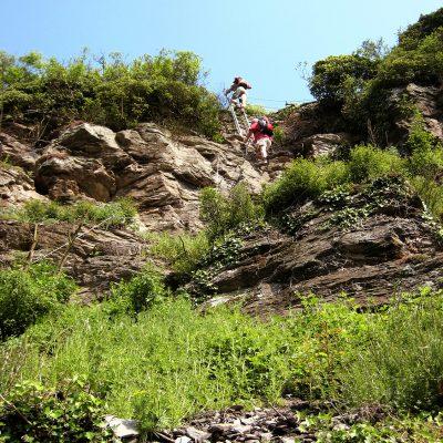 Klettersteig Collis bei Zell an der Mosel